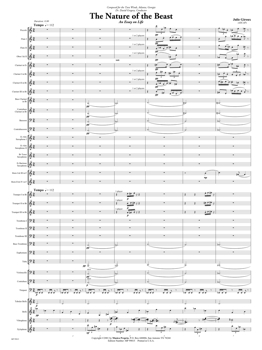 The Nature of the Beast Score